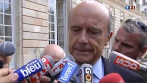 Le ministre des Affaires étrangères Alain JUppé, le 5 septembre 2011