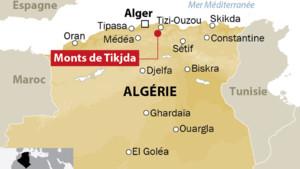 Les monts de Tikjda en Algérie