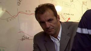 Luc Jousse, la maire UMP Roquebrune-sur-Argens en 2003.