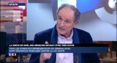"""Projet de loi santé : """"Rien n'est cohérent"""", pour le président de la Fédération des médecins"""