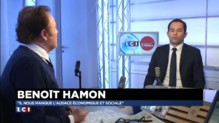 """""""S'il n'y a pas de changement de politique, il n'y a pas de raison de changer de casting"""", Benoît Hamon"""
