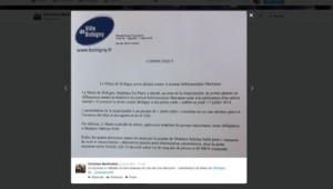 bobigny communiqué maire adjoint Christian Bartholmé