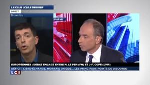 Déficit, euro, élargissement : les imprécisions de Marine Le Pen et Jean-François Copé