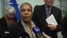"""Incendie à la prison de Maubeuge : """"La situation est contrôlée"""", selon Taubira"""
