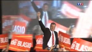 Le 20 heures du 6 novembre 2013 : Bill de Blasio, le maire � cool � de New York - 1293.9868677978516