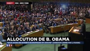 Ukraine : quand Obama s'adresse indirectement à Poutine sur l'annexion de la Crimée