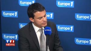 """Valls accuse Sarkozy """"d'abaisser le niveau politique"""""""