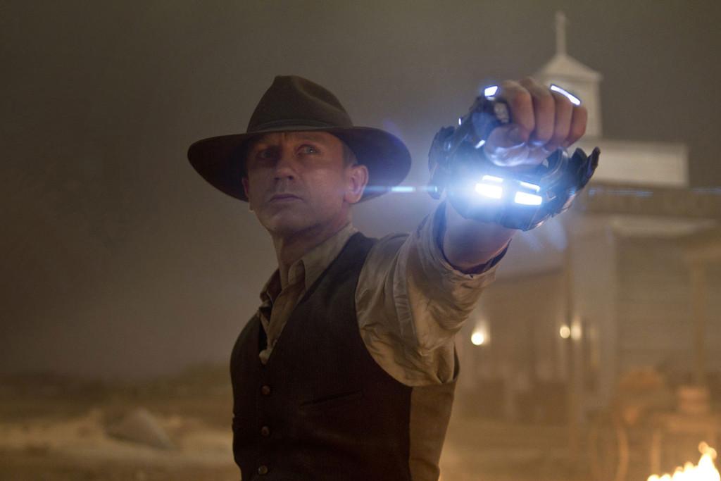 Cowboys & Aliens de Jon Favreau, Daniel Craig