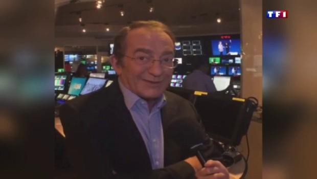 """Élu présentateur préféré des Français, Jean-Pierre Pernaut se dit """"content"""""""
