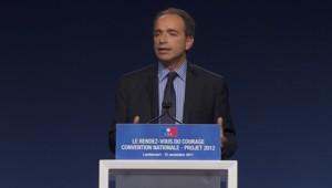 Jean-François Copé, le 22 novembre 2011.