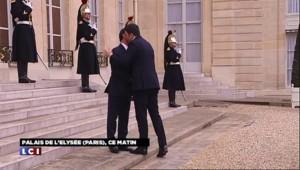 Le président du Conseil italien, Matteo Renzi, reçu à l'Elysée
