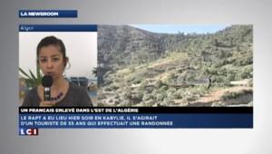 Un touriste français enlevé en Algérie, encore aucune revendication