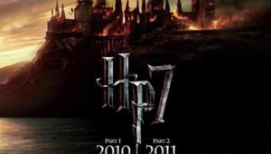 L'affiche officielle pour les deux parties du film Harry Potter et les reliques de la mort.