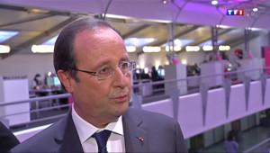 Le 20 heures du 6 février 2014 : Hollande veut harmoniser les pratiques fiscales des g�ts d'Internet - 1296.925463989258