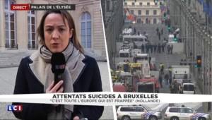 """Attentats à Bruxelles : cellule de crise place Beauvau """"pour sécuriser les frontières françaises"""""""