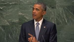 Barack Obama, à l'Onu, le 28/9/15