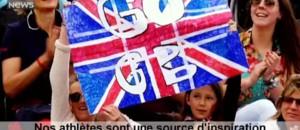 JO : Kate Middleton, le prince William et le prince Harry, la famille royale apporte son soutien à la Grande-Bretagne