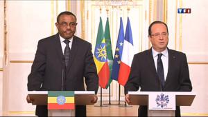 """Le 20 heures du 19 avril 2013 : Hollande : """"Pas de versement de ran�"""" pour lib�r les otages - 716.741"""
