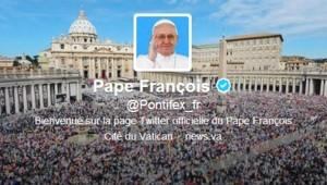 Le compte Twitter @Pontifex du Pape François