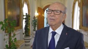 Béji Caïd Essebsi, interrogé sur TF1, le 19/3/15