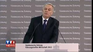 En Allemagne, Ayrault parle de la France… en allemand (vidéo)