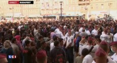 Hongrie : la gare internationale de Budapest évacué en raison de l'afflux de migrants