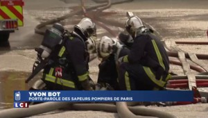 """Incendie à La Courneuve : """"L'extinction totale ne pourra intervenir que sur plusieurs jours"""""""
