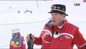 Jacky, moniteur de ski à 81 ans