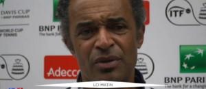 """La France en demi-finale de la Coupe Davis : """"C'est bon de gagner"""", affirme Noah"""