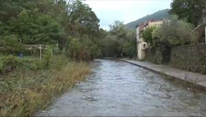 Le 20 heures du 12 octobre 2014 : Intemp�es : Saint-Jean-de-Val�scle menac�par la mont�des eaux - 247.69100000000003