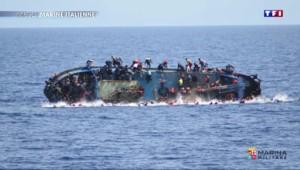 Migrants : un naufrage fait au moins 5 morts