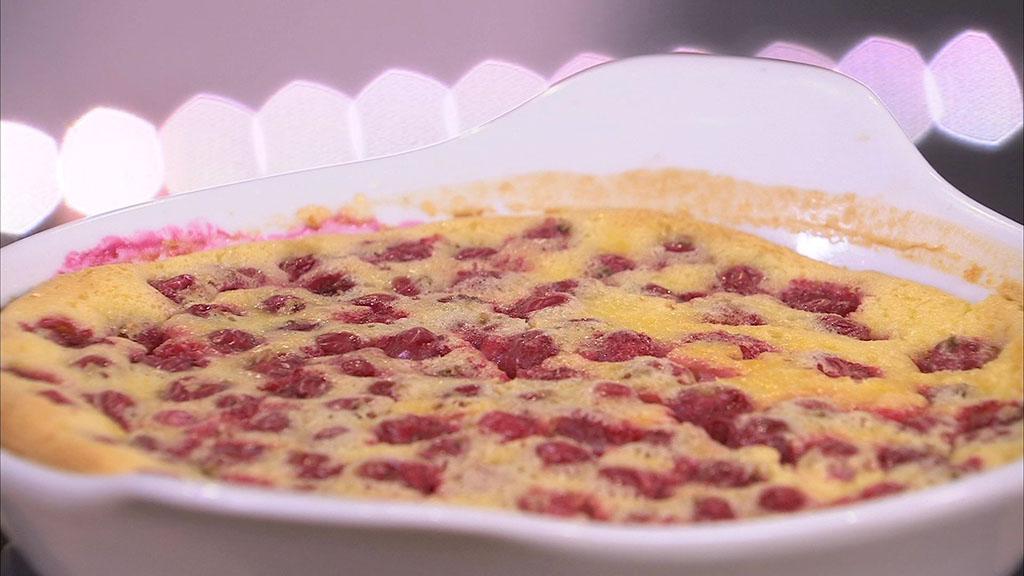 Clafoutis la groseille petits plats en equilibre mytf1 - Recette cuisine tf1 petit plat en equilibre ...