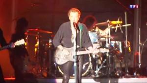Johnny Hallyday en concert au Printemps de Pérouges