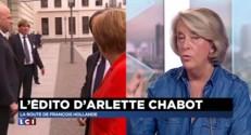 """Mini-remaniement, conférence de Paris: Arlette Chabot détaille """"la feuille de route"""" de Hollande"""