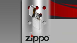 briquet Zippo, image du site Internet de la marque