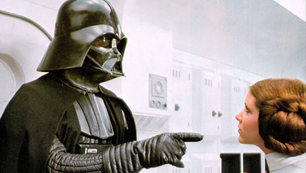 Dark Vador dans Star Wars.