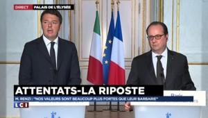 """Renzi : """"Un accord global avec la Turquie est nécessaire pour la question des réfugiés"""""""
