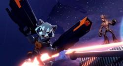 Rocket et Groot (Gardiens de la Galaxie), les nouveaux héros de Disney Infinity 2.0 Super Heroes Marvel