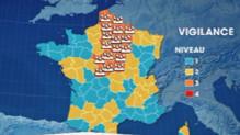 26 départements ont été placés en alerte orange pluie-inondation par Météo France ce lundi 30 mai à 16h.