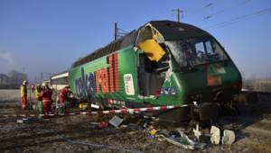Deux trains étaient entrés en collision en Suisse après le non-respect d'un signal