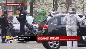 """Fusillade à Charlie Hebdo : """"On a affaire à des vrais professionnels"""" selon Chouet"""