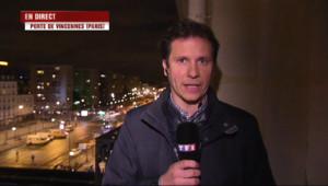 Le 20 heures du 9 janvier 2015 : Assaut Porte de Vincennes : la police scientifique sur les lieux, début du travail d%u2019investigation - 422.888