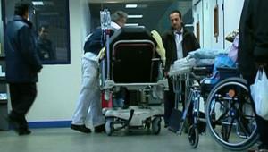 Lit urgences hôpital hospitalisation blessé infirmier aide-soignant clinique