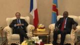 Hollande à Kinshasa pour le 14e sommet de la Francophonie