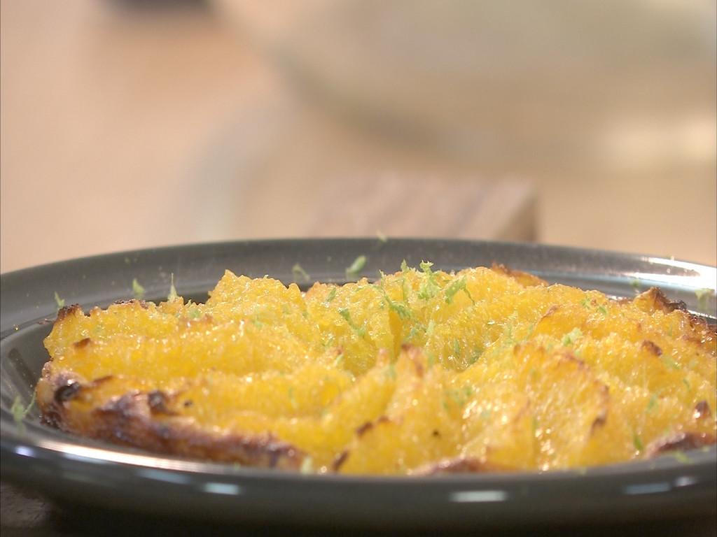 Tarte fine l 39 orange petits plats en equilibre mytf1 - Recette cuisine tf1 petit plat en equilibre ...