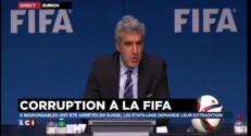 """Arrestations à la Fifa : """"la Fifa est la victime"""""""