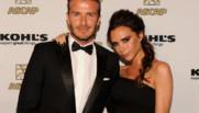David et Victoria Beckham aux Latin Music Awards au Beverly Hilton Hotel, à Beverly Hills, le 20 mars 2012.