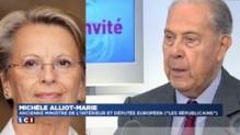 """Décès de Charles Pasqua : """"Un homme attaché à la France"""" pour Michèle Alliot-Marie"""