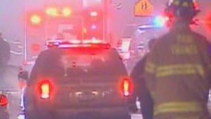 Les images du crash d'un avion dans l'Etat de New York