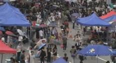 Manifestation pro-démocratie à Hong Kong, 1/10/14